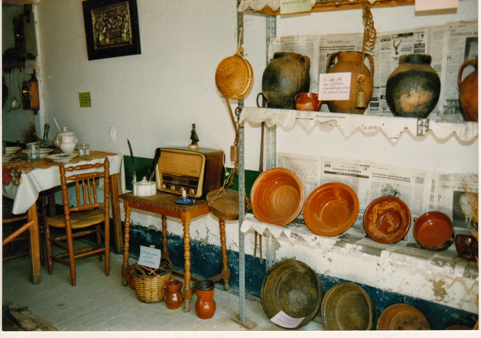 Mozos de cea exposiciones for Utensilios antiguos de cocina