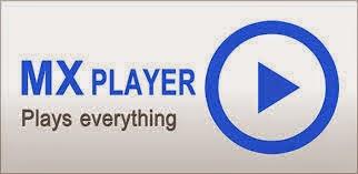 برنامج mx player 2014 لتشغيل الملفات الصوتية