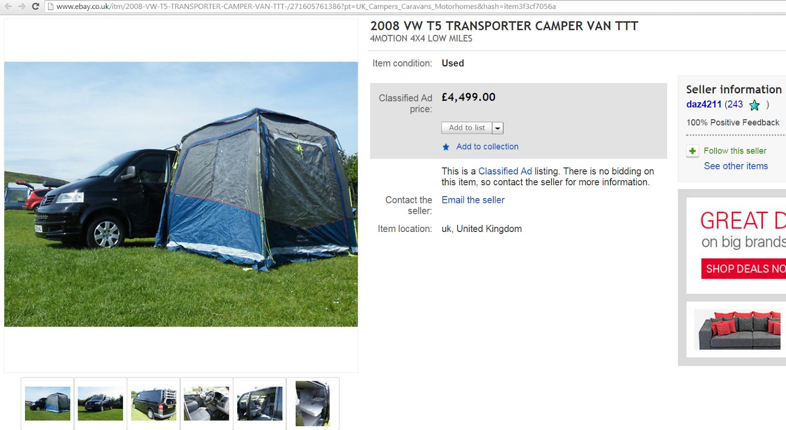 camper contact uk