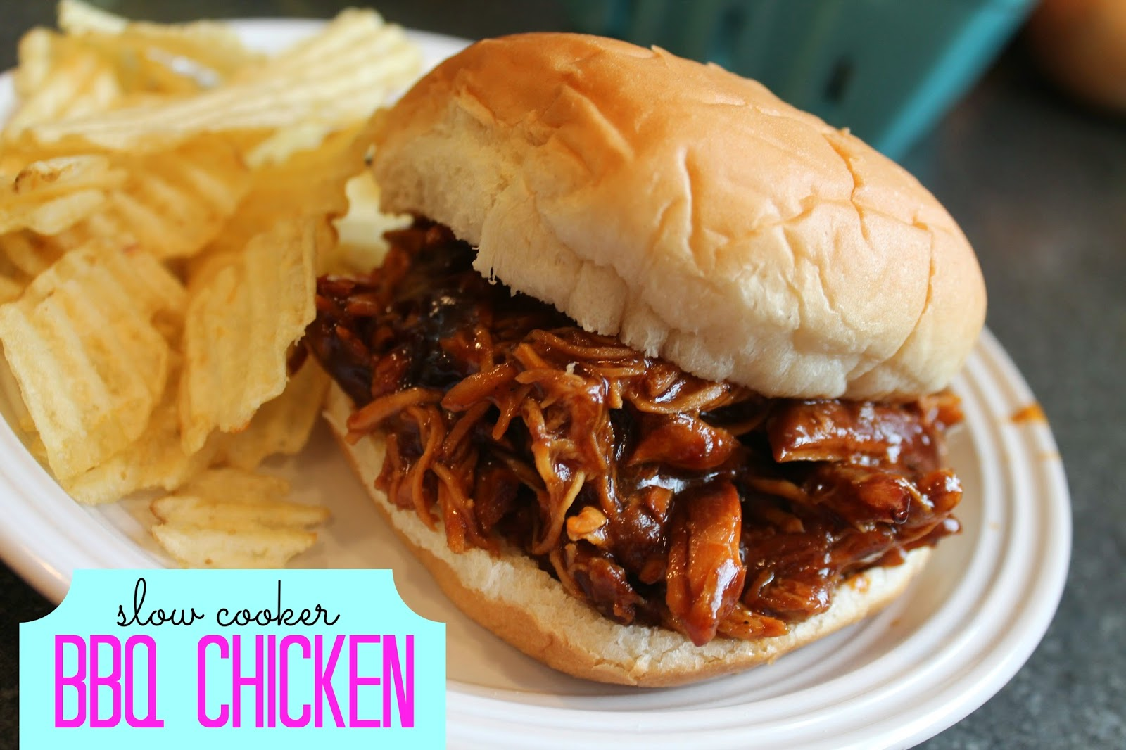 Barnabas Lane: Tasty Tuesday-Slow Cooker BBQ Chicken & Recipe Link Up
