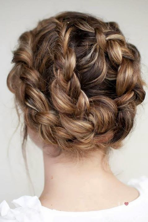 Braided Up dos Hairstyles | Hair