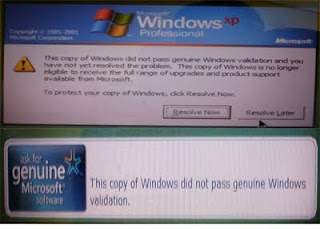 How to Remove Windows Genuine Advantage Notifications