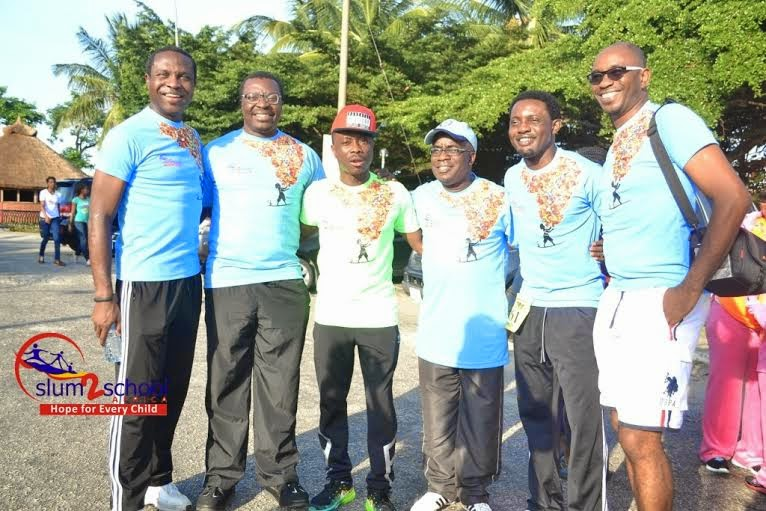 Alibaba, Monalisa Chinda, Ibinabo Fiberesima, Julius Agwu, Others Walk To Support The Less Privileged Kids – Photos