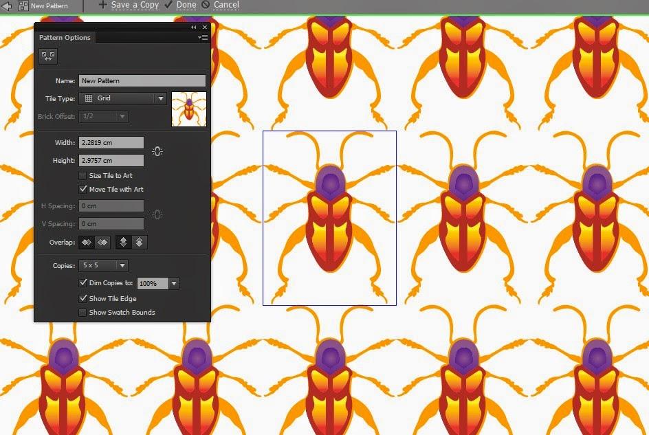 Cara Membuat Pattern atau Pola di Adobe Illustrator ~ Fade
