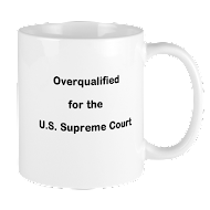 Click on mug to go to Overqualified cafepress shop.