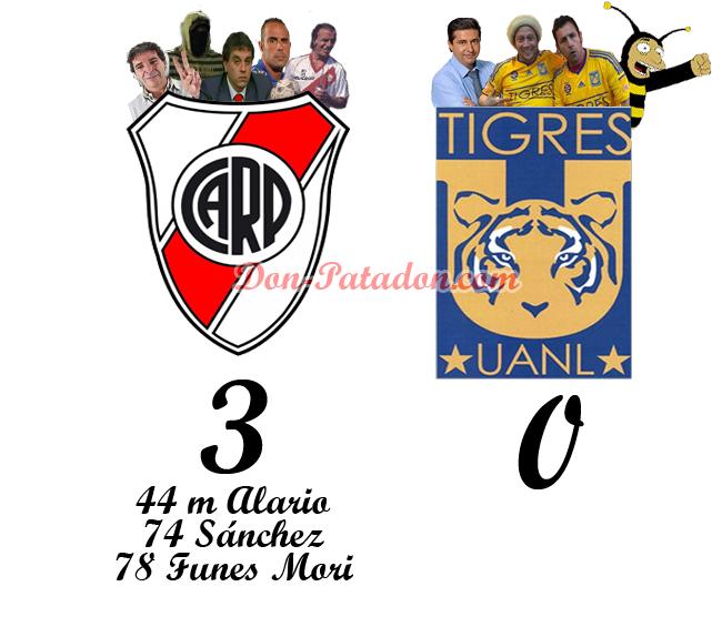 Las mejores frases de Niembro de River Plate 3 - Tigres 0