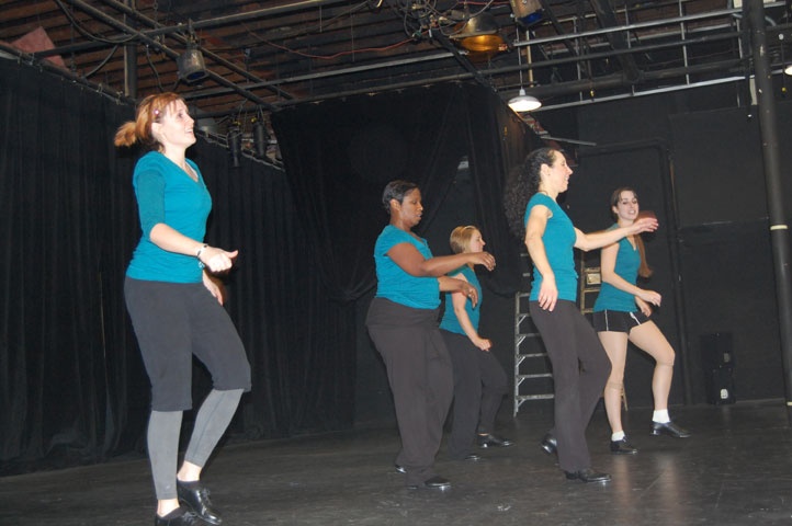 ... Dance Company hosted an open rehearsal and free adult dance class during ...