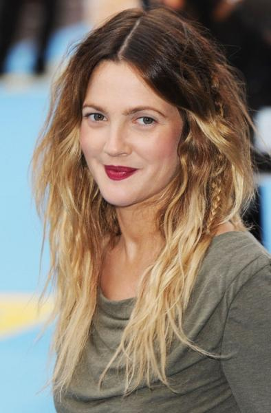 drew barrymore hair. OMBRE HAIR- Drew Barrymore,