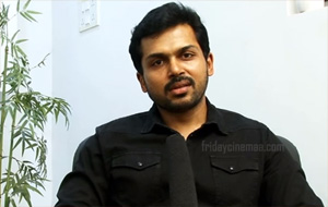 Actor Karthi to come up in Four Getups in Upcoming Movie