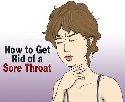 Get Rid of a Sore Throat?