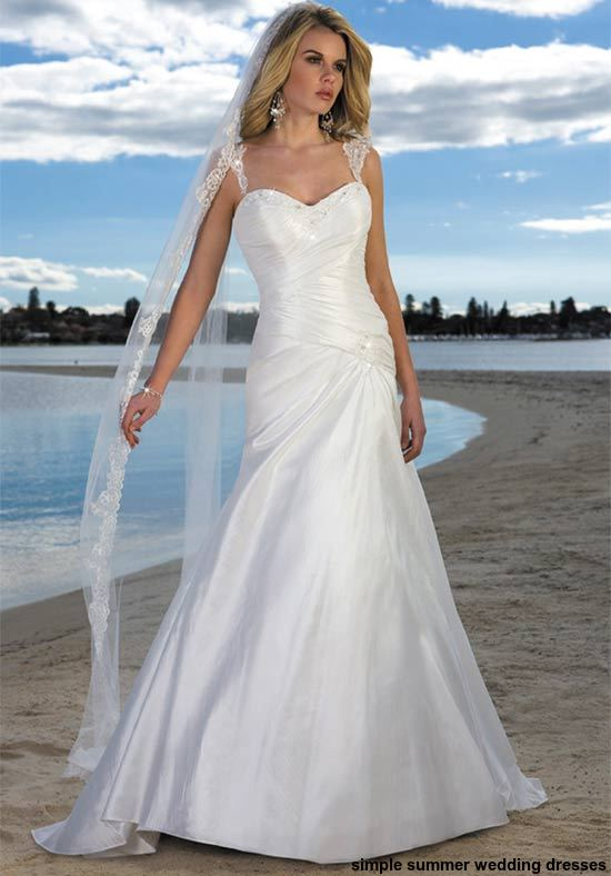 Best Simple Summer Wedding Dresses 2015 | Wedding Dresses Collections