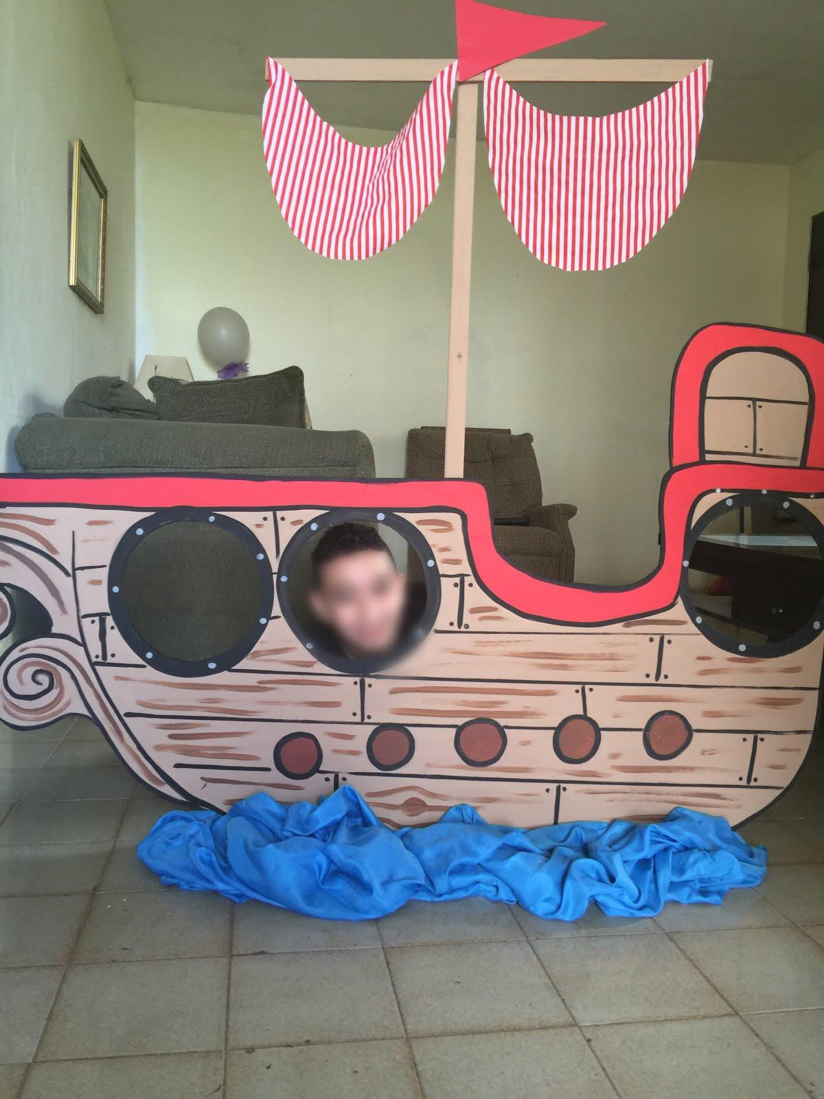 Barco de 5 pies en madera