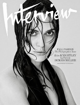 Keira Knightley Interview Magazine September 2014 cover