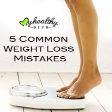 mistakes to avoid in weight loss