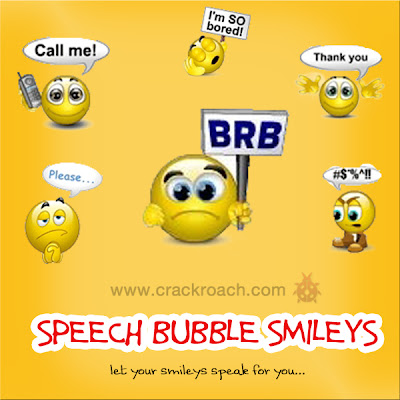 Largest Collection of Facebook Chat codes for Latest Smileys & Emoticons speech bubble talk crackroach