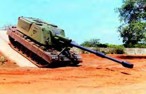 Drdo plans to revive self propelled artillery bhim howitzer after been in cold storage for more than a decade drdo now plans to revive 155m 52 calibre self propelled artillery gun mounted on arjun mbt derivative altavistaventures Images