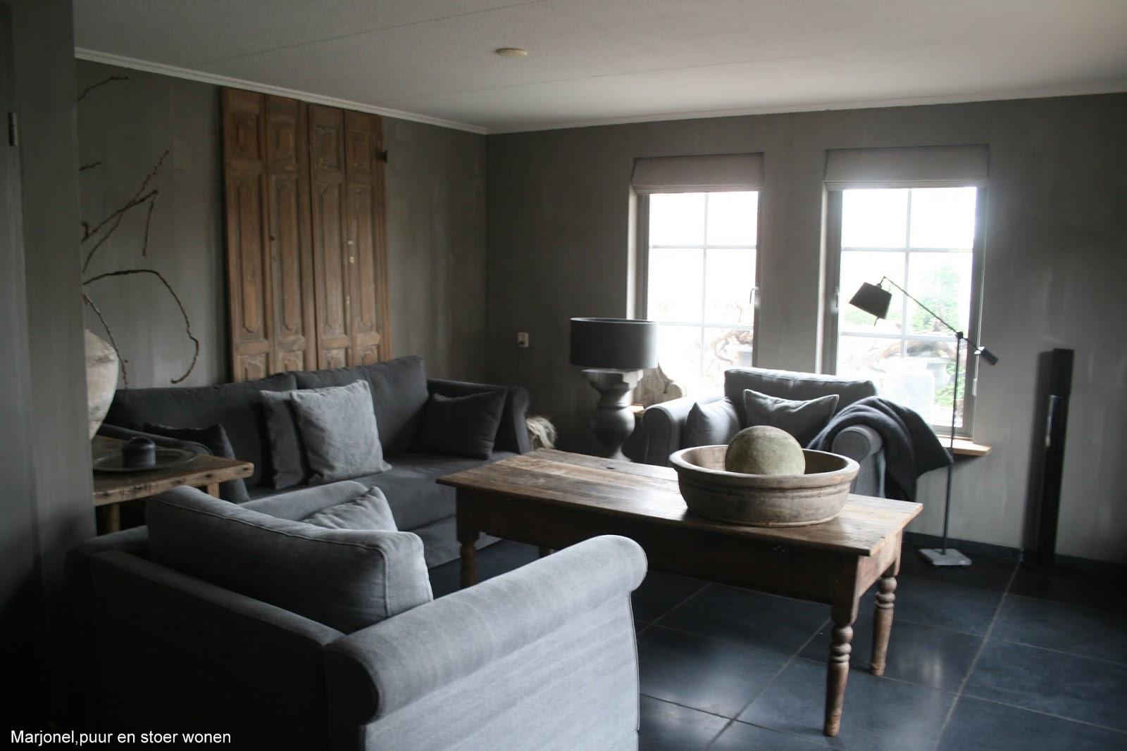 Lounge benadrukken grijze kleur - Lounge warme kleur ...