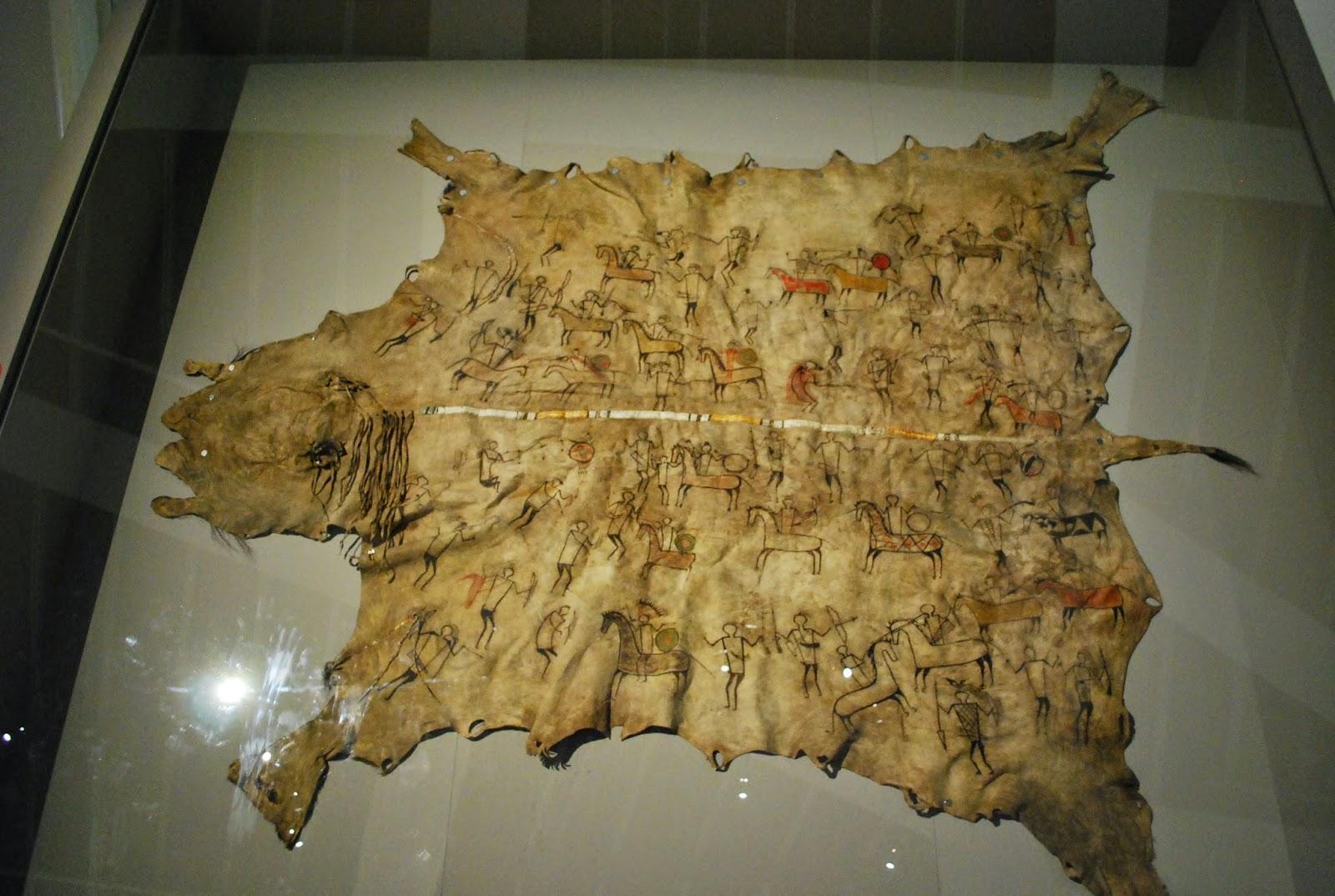 Lakotas ou Yanktons, Robe, 1780-1825 Branly