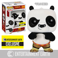 Funko Pop! Po Flocked