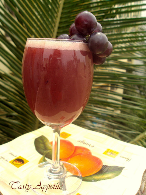 how to make easy grape juice