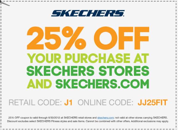 Skechers coupons printable august 2018