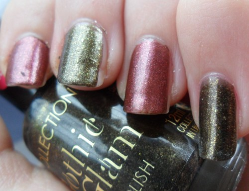 Collection Gothic Glam Polish Swatches