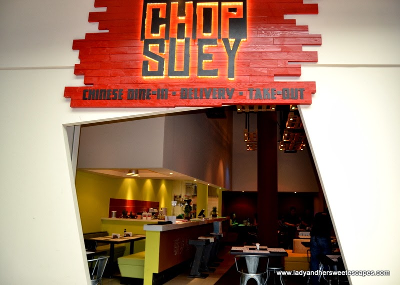 Chop Suey Chinese restaurant in Jumeirah Dubai