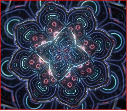 Cosmic Flower Unfolding Ben Ridgway animatedfilmreviews.filminspector.com