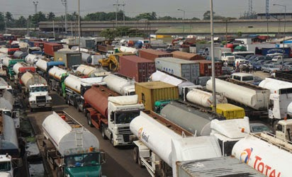 Apapa Horrific Traffic! Everything About The Country Is Falling Into Pieces -Fashola