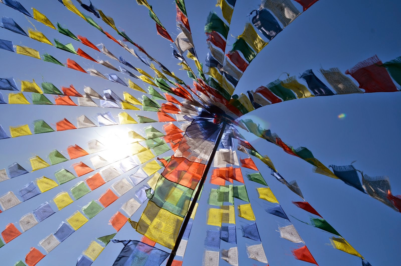 Prayer Flags in Tibetan Buddhism
