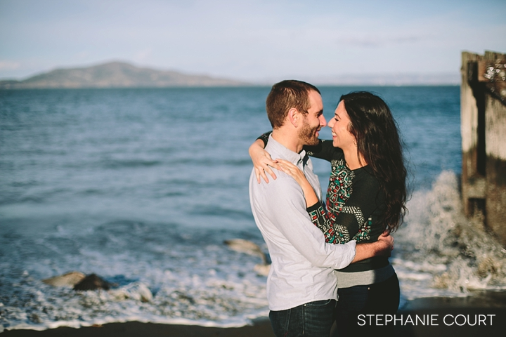engagement photos at crissy field