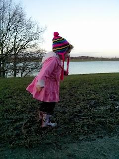 Girl squelching in mud