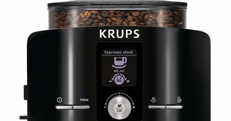 krups espresso machine