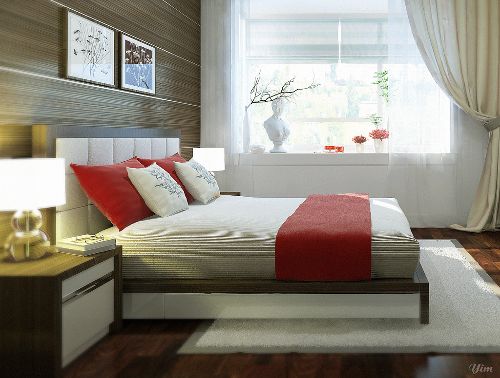 Cozy bedroom ideas most wanted bedroom for Interior design for bedroom red