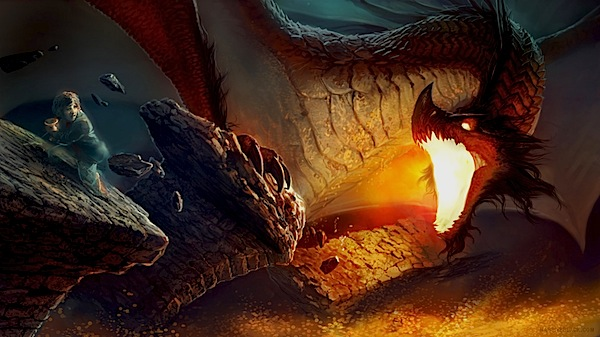smaug the dragon hobbit - photo #25