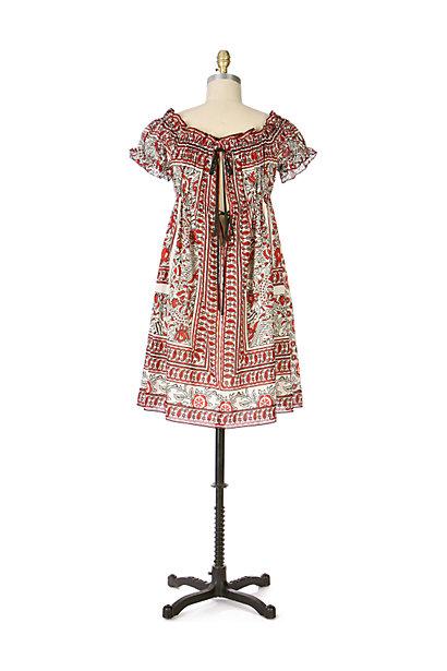 Anthropologie Poppy Fields Dress