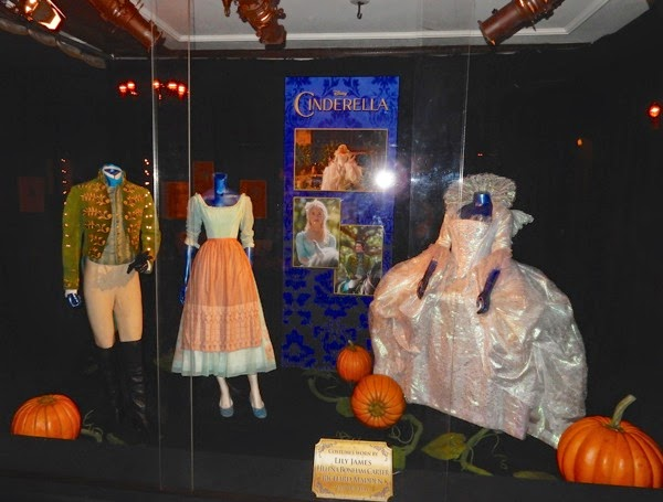 Original Cinderella 2015 movie costumes