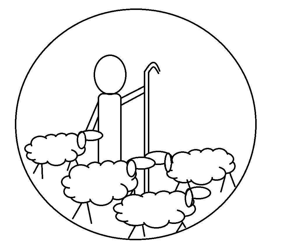 jesse tree symbols coloring pages - photo#30