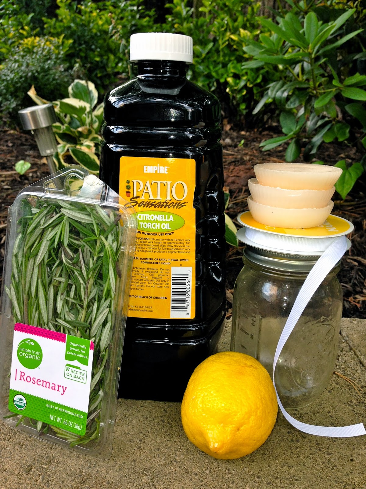 decorella diy backyard citronella mason jar candles