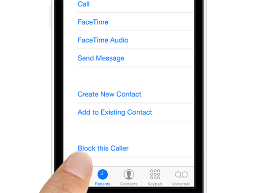 block caller iphone