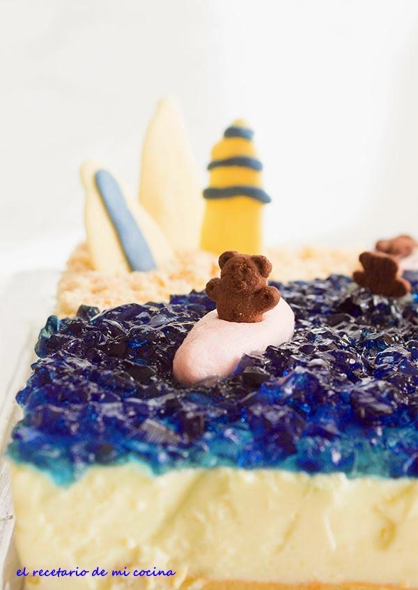 tarta playa