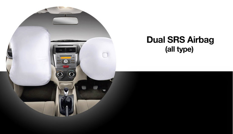 Dual SRS Airbag System Avanza