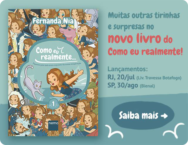 Lançamento do Livro Como eu realmente Fernanda Nia Editora Nemo