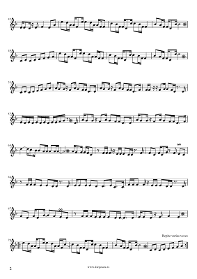 Careless Whisper de George Michael Partitura Fácil para Principiantes