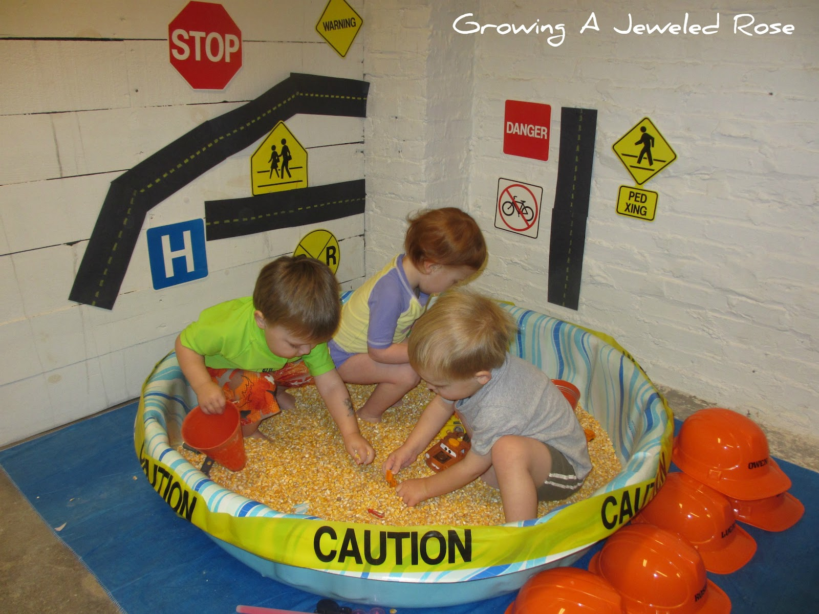Our First Group Sensory Play Date