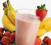 Resep Minuman Segar, Sari Buah, sari buah Stroberi Dan Pisang, cara mbuat sari buahme
