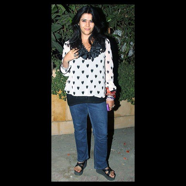 Ekta Kapoor in different avatar