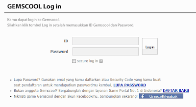 Gamescool Login