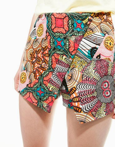 Short estampado