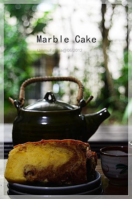 marmer sponge cake